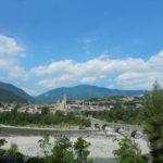 La piana di Bobbio in Val Trebbia