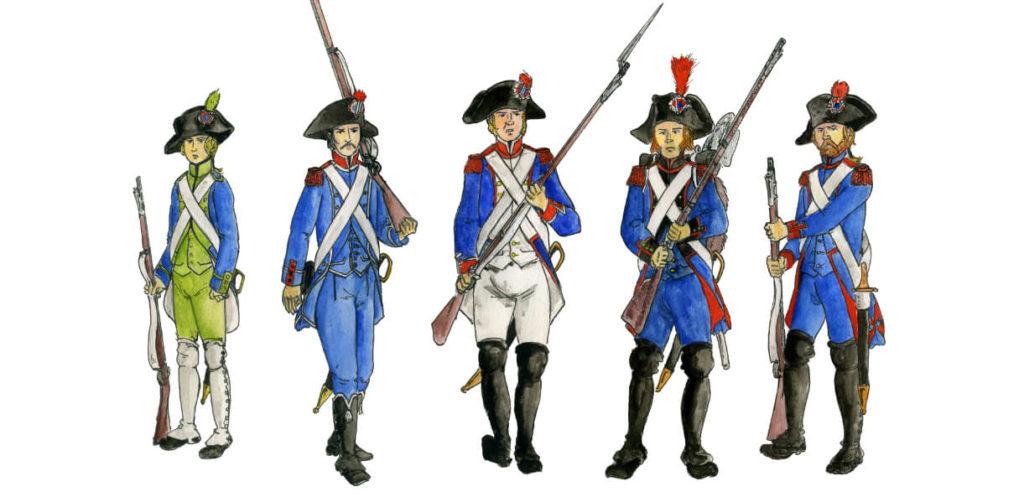 Soldati Rivoluzionari Francesi
